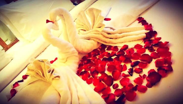 Paditeras Boutique Hotel Seminyak Bali - Honeymoon setup