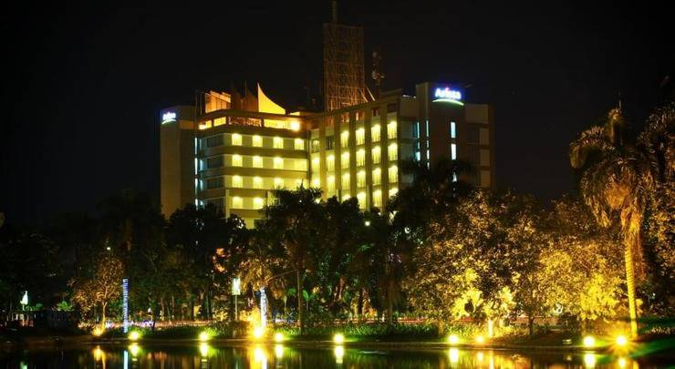 The Arista Hotel Palembang - Tampilan Luar Hotel