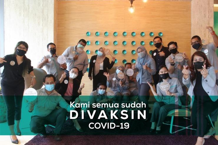 THE 1O1 Jakarta Sedayu Darmawangsa Jakarta - Staff Vaksin