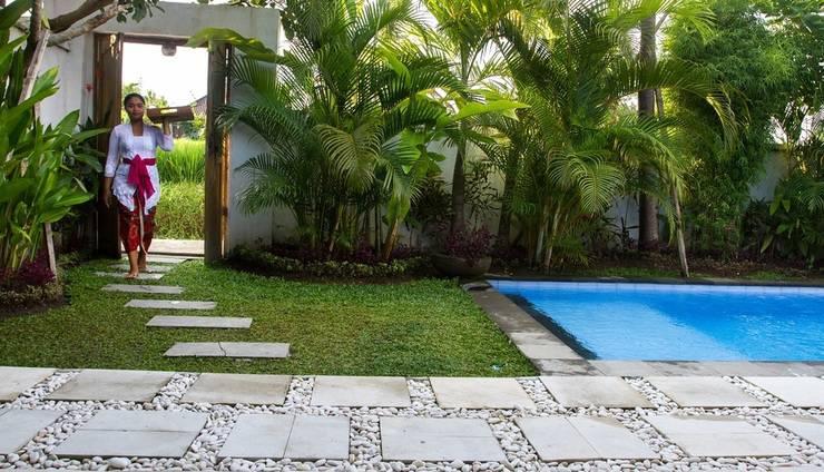 Villa Iman Bali - Pintu masuk villa