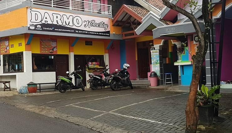 Darmo Homestay Malang - Tampak depan