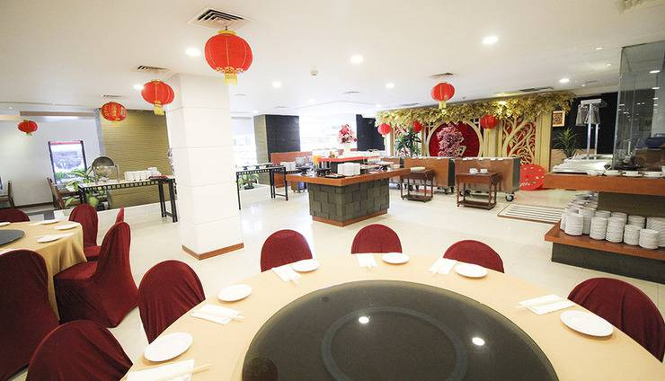 Redtop Hotel & Convention Center Jakarta - Oriental Cafe