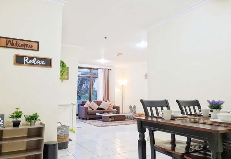 Sweet and Cozy 2 BR Apartment Yogyakarta - Interior