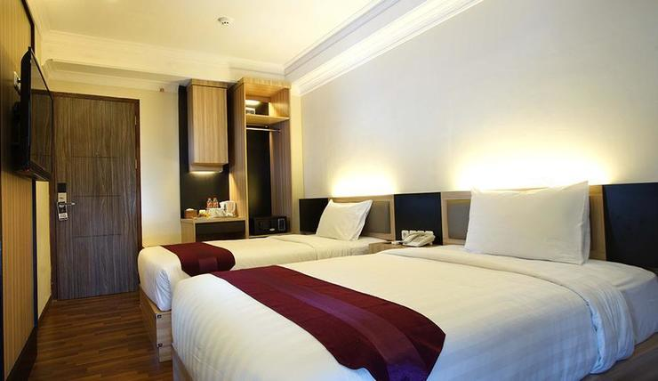 TOP Malioboro Hotel Yogyakarta - Deluxe Twin Bed