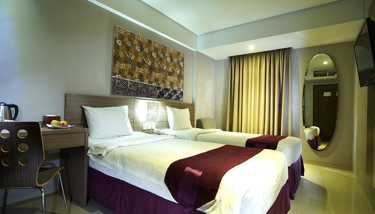 TOP Malioboro Hotel Yogyakarta - Superior Dua Bed