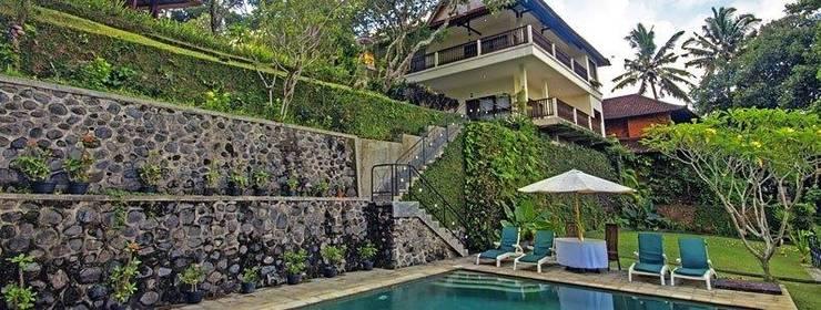 Puri Bunga Bali - Bangunan