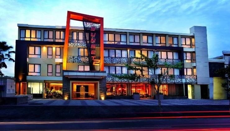 100 Sunset Hotel Bali - exterior