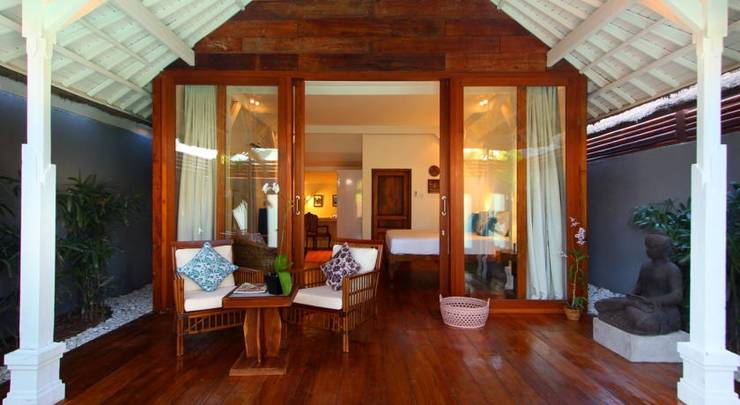 The Apartments Canggu Bali - Teras