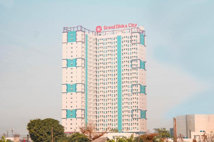 OYO Flagship 125 Appartel Grand Dhika City Bekasi - Facade