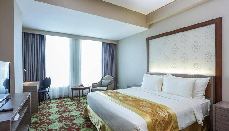 Selyca Mulia Hotel and Shopping Center Samarinda - Kamar Deluxe Double