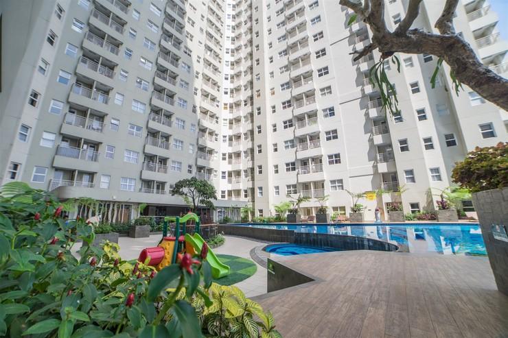Pleasant 2BR Apartment at Parahyangan Residence By Travelio Bandung - Gedung