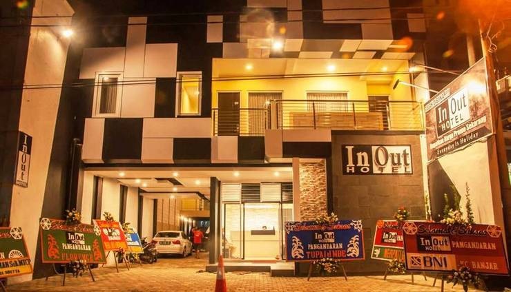 In Out Hotel Pangandaran - Gedung Hotel