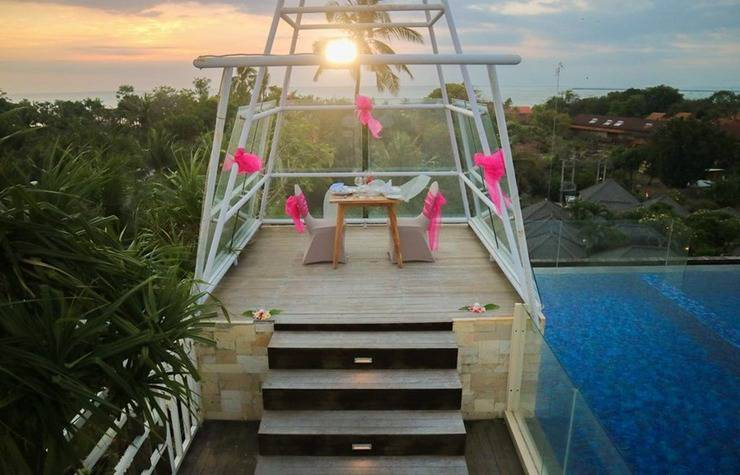 FOX HARRIS Hotel Jimbaran Beach ex. Pramapada Jimbaran Hotel Bali - Exterior