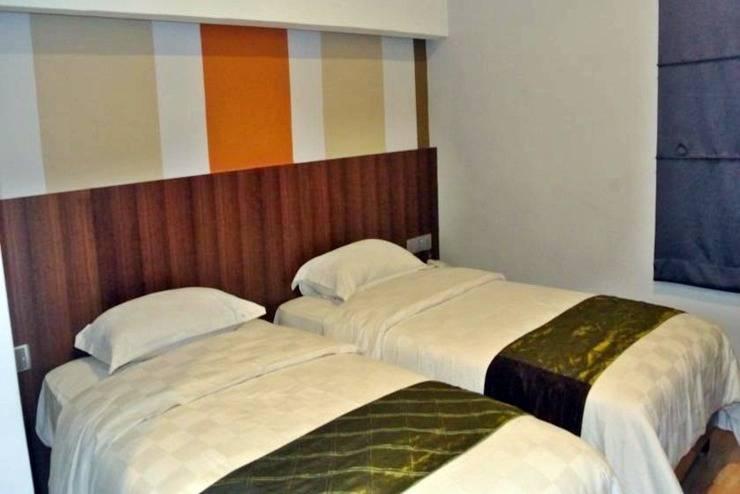 J Hotel Medan - Kamar tamu