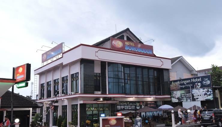 Hotel Borobudur Yogyakarta Yogyakarta - Hotel Tampak Depan