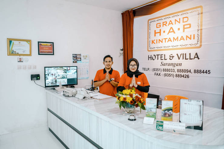 Grand HAP Kintamani Sarangan Magetan - Reception N