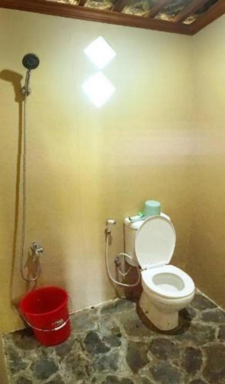 Karapyak Glamping Pangandaran - Bathroom