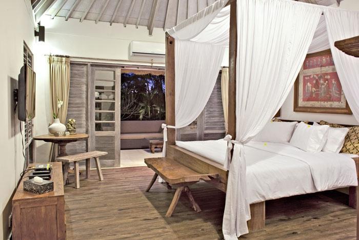 The Puri Shanti Villas Bali - Kamar Tamu