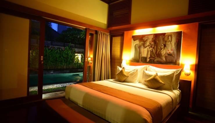Nyuh Bali Villas Bali - Malam di Villa 1 Kamar Kolam