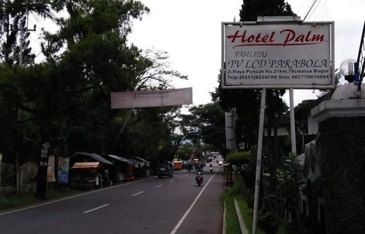 Palm Hotel Puncak - Eksterior