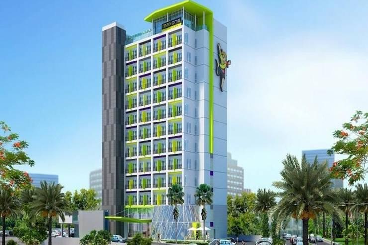 Shakti Hotel Bandung - Tampilan Luar Hotel