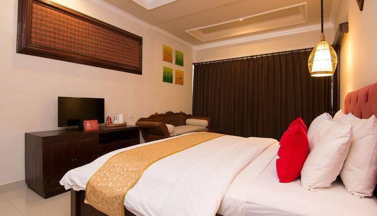 ZEN Premium Pegosekan Ubud 3 Bali - Tempat Tidur Double