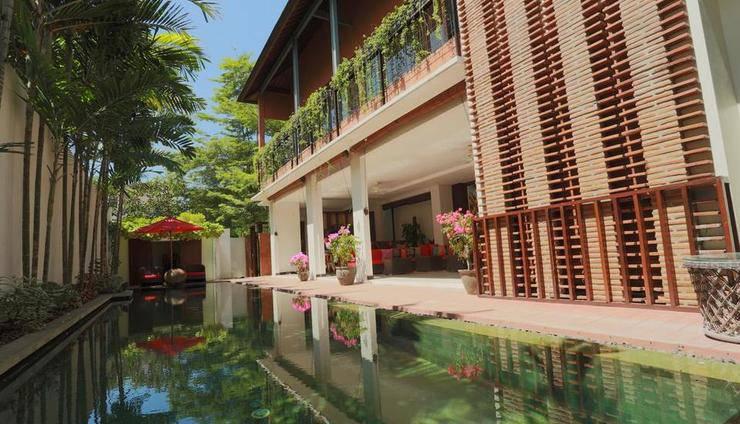 LuoLan Manis Villa Bali - Kolam Renang