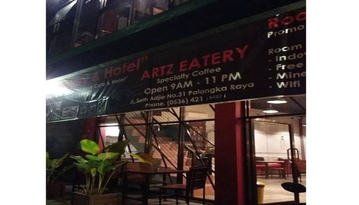 Artz Hotel Palangka Raya - Coffee shop