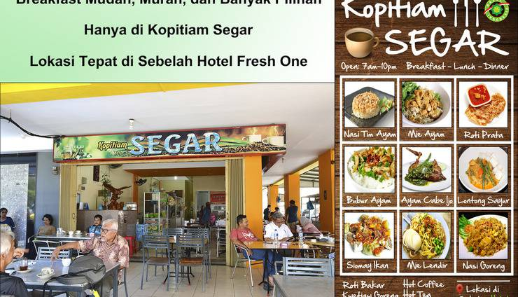 Hotel Fresh One Batam - Breakfast