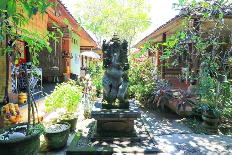 Mertha Jati Hotel & Bungalow Bali - Garden