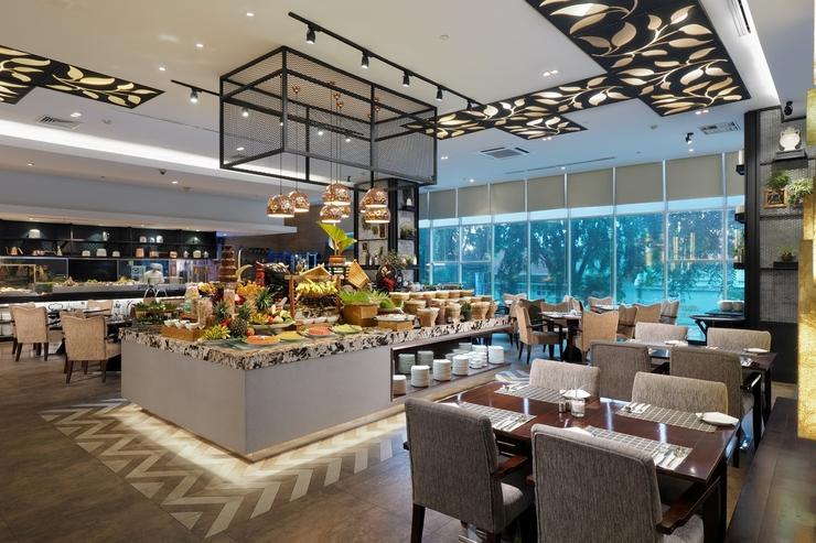 Cambridge Hotel Medan Medan - The Cafe