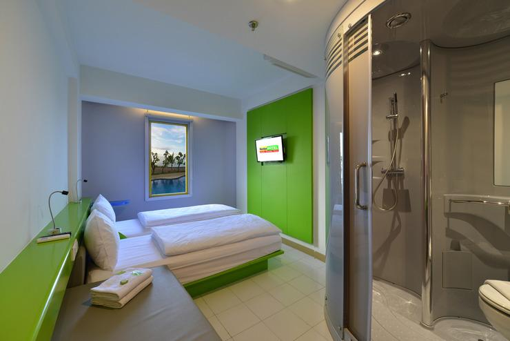 Hardys Hotel Singaraja - kamar 2 bed