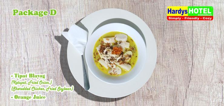 Hardys Hotel Singaraja - Set-menu sarapan pagi