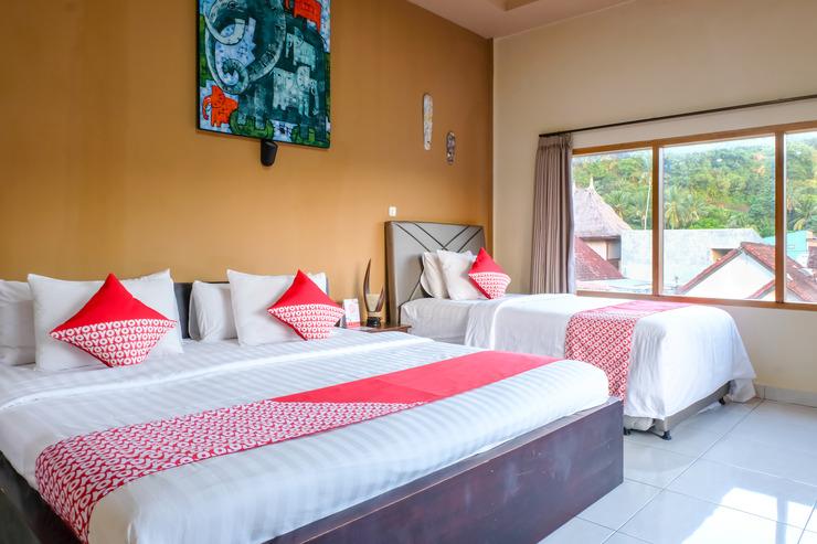 OYO 992 Semilir Senggigi Inn Lombok - Bedroom