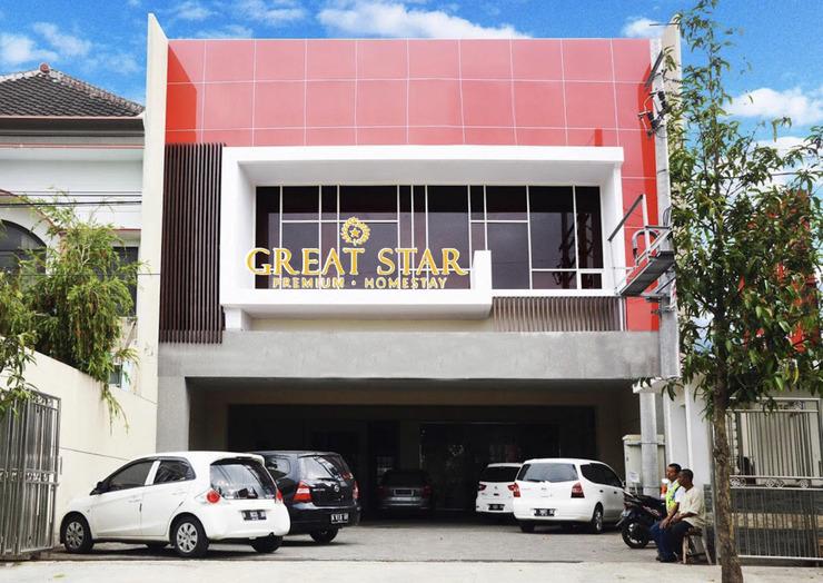 Great Star Premium Homestay Malang - tampak depan