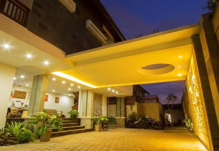 ZenRooms Kerobokan Tangkuban Perahu Bali - Tampak depan hotel