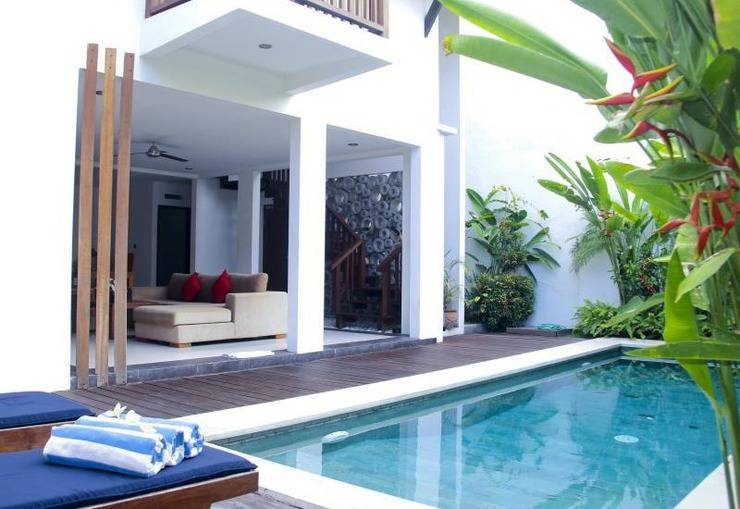 ZenRooms Kerobokan Tangkuban Perahu Bali - Kolam Renang