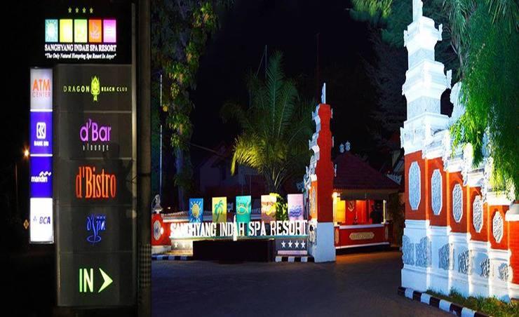 Sanghyang Indah Spa resort Banten - Tampilan Luar Hotel