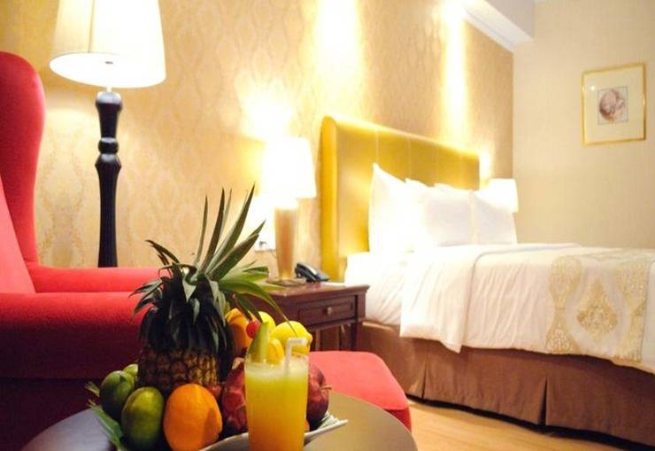 Adimulia Hotel Medan - Kamar tamu