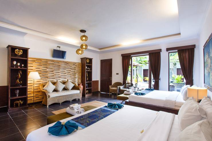 Ubud Raya Hotel Bali - Deluxe Family Room
