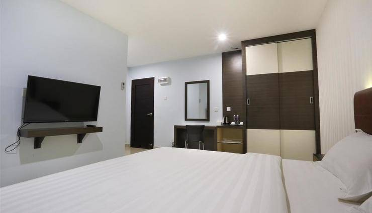 City Central Hotel Batam - Kamar Tamu