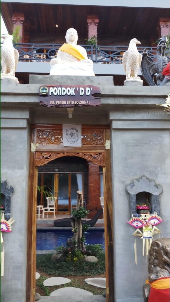 Pondok DD Canggu Bali - Front