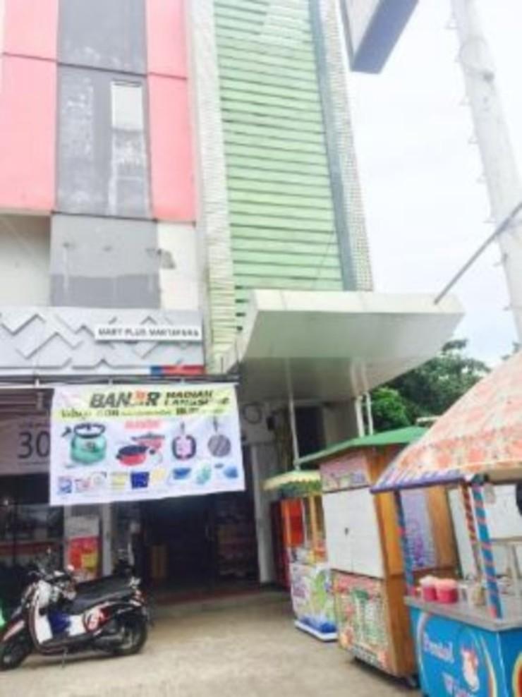 Kavana Syariah Homestay Banjarmasin - entrance