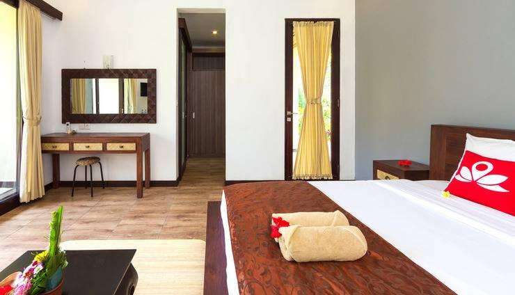 ZenRooms Ubud Bisma 4 Bali - Tempat Tidur Double