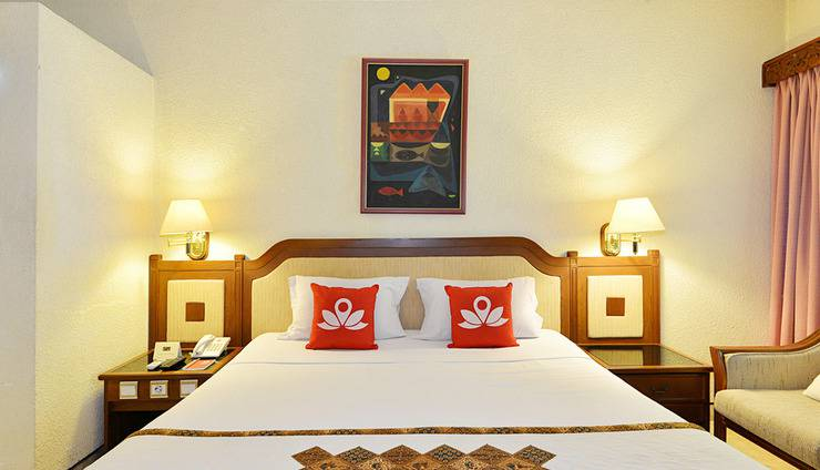 ZEN Rooms Jogja Cendrawasih Yogyakarta - Tampak tempat tidur double