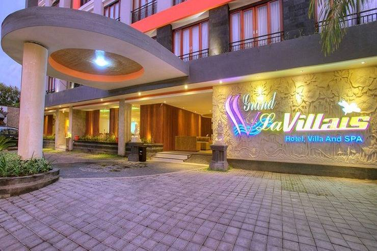 Grand La Villais Hotel & Spa Seminyak - Tampilan Luar Hotel