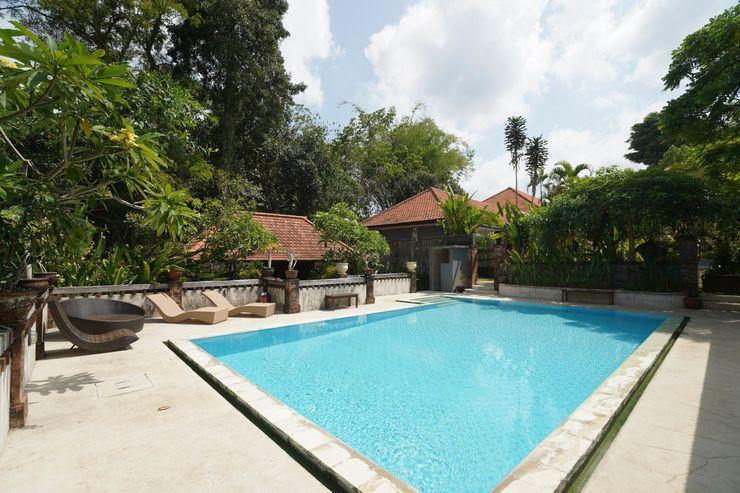 OYO 1840 Kubu Ubud Hotel Bali - Swimming Pool