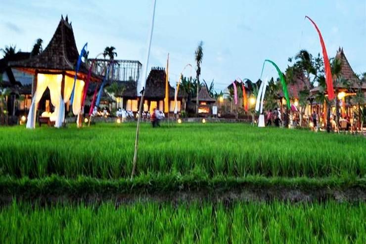 Kampoeng Joglo Abangan Bali - Lingkungan Sekitar