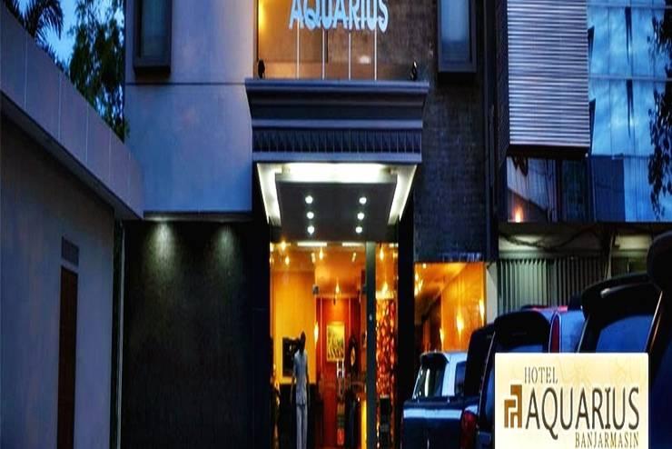Hotel Aquarius  Banjarmasin - Tampilan Luar Hotel