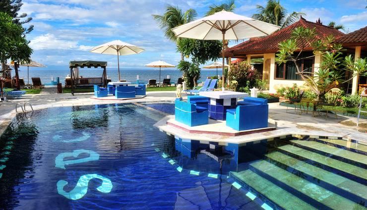 Bali Seascape Beach Club Candidasa - Kolam Renang